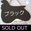 SOLD OUT THANKS コッカーシルエット型ドアプレート ブラック 犬雑貨