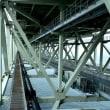 世界一のつり橋である明石海峡大橋 遊歩道がある。ここは初めて❣️