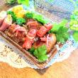 [小樽]娘の今日のお弁当🍱·肉巻きお握り弁当です。