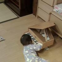 将来の名ピアニスト?