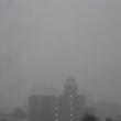 夕方の福島市に大雨!