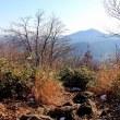 初冬の三角山