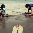 砂浜あそび