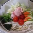 温野菜でヘルシー朝食(^^)/
