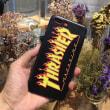 スラッシャー/THRASHERのFLAME ロゴ付きiPhone7/7s/8ケースが人気超絶
