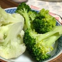 茹でた野菜がいいです