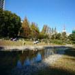 靭公園でお茶しました。