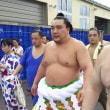 大相撲板柳巡業