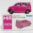 イオン限定トミカ ピンクのワゴンR RR