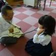 今週も浜寺小学校の2年生の皆さんと