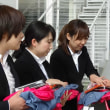 1461  宮田村小田切村長さんとゆるキャラさんと第8期日本聴導犬・介助犬訓練士学院入学式