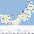 沖縄140km。