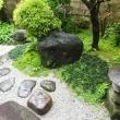 タケノコご飯を庭を見ながら食べる癒しの時間