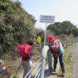 7 金甲山・怒塚山(403・332m:岡山市・玉野市)登山  車道に出合い間もなく山頂へ