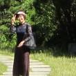 ローズガーデンの散歩