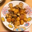 つくねと舞茸の甘酢炒め
