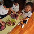 年少組☆今月の野菜【さつまいも】