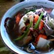 石垣島ローカル 「でいご食堂」の野菜ラーメンと塩ラーメン