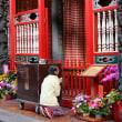 のんびり・台湾 台北市 癒しのお寺・龍山寺 11