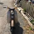 お客様のオートバイ・ホンダC100です。