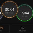 30km走、またもやヘロヘロに。。。