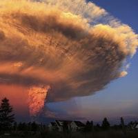 火山パブロワの活動・・・アラスカ航空の便に影響