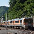 8月19日撮影 その2 飯田線80周年アルプス号 ②
