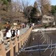 水のない井の頭公園と神田川源流
