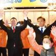 御坊市議選、山田勝人氏(現職議長)歓喜のトップ当選 〈2019年1月22日〉
