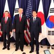 韓国では北朝鮮の脅威が高まっても衆愚政治のヘル朝鮮ぶり、極左反日反米の輩のやる事は何処も同じ!!