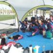 沖縄女子短期大学女子サッカー部の選手も成人式だ!