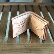 お客様からのオーダーメイド二つ折り財布!