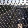 集中工事中の東名高速