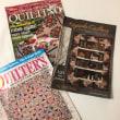 パッチワークキルトの雑誌と洋書