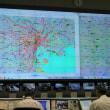 警視庁交通管制センターにて研修。