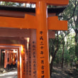 伏見稲荷大社 (京都市) -8- 鳥居の寄進
