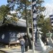 河高八幡神社の厄神祭-山上での祭りも