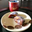 新米と栗のお菓子
