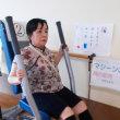 リハビリでは各種のマシーンを使って体力保持と壊れた機能を回復するための運動に役立てています。