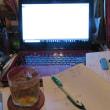 深夜の執筆生活
