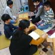 1月22日子供教室の風景。