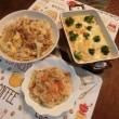 とろ卵豚キャベツ&シーフードグラタン&鶏五目ご飯