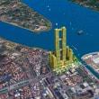 カンボジアの首都中心部で、133階のビル、基礎工事を開始。