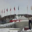 スキージャンプ観戦!
