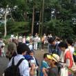第100回井の頭かんさつ会とその記念パーティへの参加(8月10日(土))