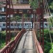 赤瓦と錆色の橋