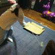 大掃除と駒の練習。
