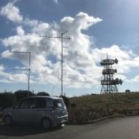 2018 東京UHFコンテスト 静岡県熱海市滝知山移動       2018-11-23
