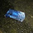 たばこの空箱2個、ペットボトル1本、収集 レジ袋でゴミ拾い&街美化と安全パトロール