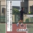■フォアハンドストローク  回り込みフォアハンド逆クロスへ打つコツ②「ボールへの入り方」 〜才能がない人でも上達できるテニスブログ〜